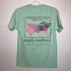 Simply Southern | Mint Tie That Binds Us T-Shirt